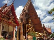 Wat thamseu, Kanchanaburi, Thailand Royaltyfria Bilder