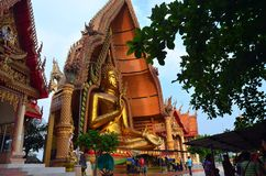 Wat thamsua. New landmark in kanchanaburi Thailand stock photos