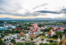 Wat Thanmikaram Worawihan. In thailand Stock Images