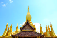 Wat Thap Luang или sisaket wat Стоковое Фото