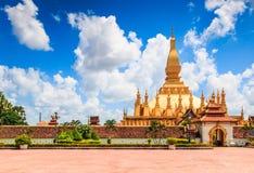 Wat Thap Luang in Laos Stock Photos