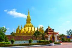 Wat Thap Luang lub wata sisaket zdjęcia royalty free