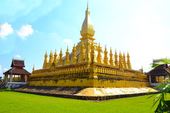 Wat Thap Luang lub wata sisaket Obraz Stock