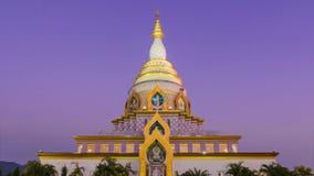 Wat Thaton Temple de Chiang Mai, Tailandia almacen de metraje de vídeo
