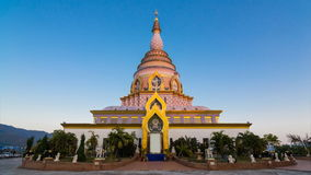 Wat Thaton Temple de Chiang Mai, Tailandia almacen de video