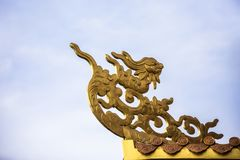 Wat Thawon Wararam är härlig och fridsam ställe ett kloster, i Hat Yai Songkhla Thailand fotografering för bildbyråer