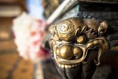Wat Thawon Wararam är härlig och fridsam ställe ett kloster, i Hat Yai Songkhla Thailand royaltyfri fotografi