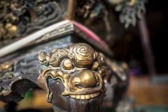 Wat Thawon Wararam är härlig och fridsam ställe ett kloster, i Hat Yai Songkhla Thailand royaltyfri bild