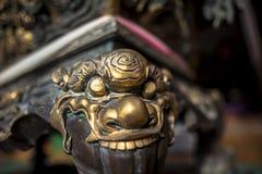Wat Thawon Wararam är härlig och fridsam ställe ett kloster, i Hat Yai Songkhla Thailand royaltyfria bilder