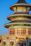 Wat Thawornwararam temple in Kanchanaburi Royalty Free Stock Photography