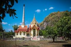 Wat Thep Charoen près de Chumphon, Thaïlande Photos stock