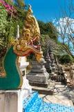 Wat Thep Charoen près de Chumphon, Thaïlande Photographie stock libre de droits