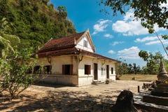 Wat Thep Charoen près de Chumphon, Thaïlande Photo libre de droits