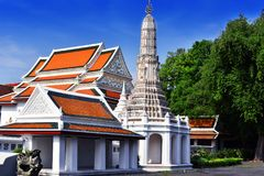 Wat Thepthidaram, tempio buddista a Bangkok, Tailandia Immagini Stock Libere da Diritti