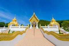 Wat Thipsukhontharam temple, Kanchanaburi province,Thailand Stock Photos