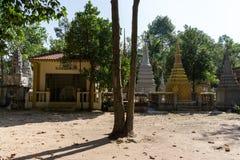 Wat Thmey Killing Field Fotografia Stock Libera da Diritti