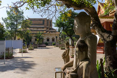 Wat Thmey Killing Field Photos stock