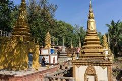 Wat Thmey Killing Field Fotografie Stock