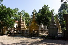 Wat Thmey Killing Field Royalty Free Stock Images