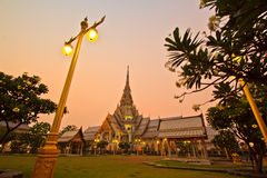 Wat So-thorn Temple in the evening Stock Image