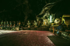 Wat Thum koo Ha or Koo Ha cave temple Stock Photo