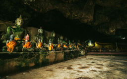 Wat Thum koo Ha or Koo Ha cave temple Stock Images