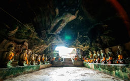 Wat Thum koo Ha or Koo Ha cave temple Royalty Free Stock Image
