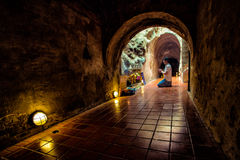Wat Thum Umong, Chiangmai, Thaïlande photo stock