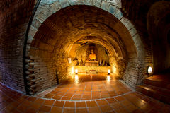 Wat Thum Umong, Chiangmai, Thailand Stock Images