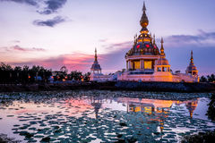 Wat Thung Setthi em Khon Kaen Tailândia imagens de stock royalty free
