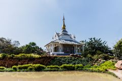 Wat Thung Setthi-tempel, Khon Kaen, Thailand royalty-vrije stock afbeelding