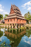 Wat Thung Si Muang em Ubon Ratchatani em Tailândia Imagens de Stock Royalty Free
