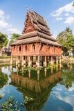 Wat Thung Si Muang en Ubon Ratchatani en Tailandia Fotografía de archivo