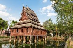 Wat Thung Si Muang en Ubon Ratchatani en Tailandia Imagen de archivo libre de regalías