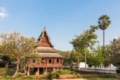 Wat Thung Si Muang en Ubon Ratchatani en Tailandia Foto de archivo libre de regalías