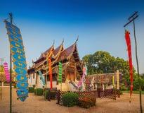 Wat Ton Gwan, templos en Chiang Mai Fotografía de archivo