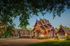 Wat Ton Gwan, templos en Chiang Mai Fotos de archivo