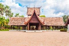 Wat Ton Gwan viktig turist- dragning, Chiangmai, Thailand. Detta Royaltyfria Bilder
