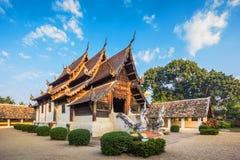 Wat Ton Kain Arkivbilder