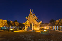 Wat Ton Kain, Old wooden temple Royalty Free Stock Images