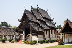 Wat Ton Kain Temple arkivfoto
