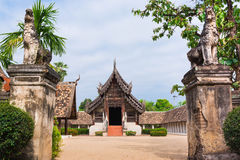 Wat Ton Kwen ancient and prominent temple in Chiang Mai. Stock Photo