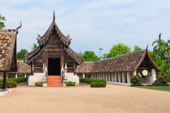 Wat Ton Kwen ancient and prominent temple in Chiang Mai. Stock Photos