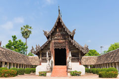 Wat Ton Kwen ancient and prominent temple in Chiang Mai. Royalty Free Stock Images