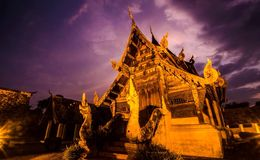 Wat ton kwen chiang mai Royalty Free Stock Photography