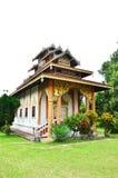 Wat Tophae на Khun Yuam в провинции Mae Hong Son северного Таиланда стоковое фото