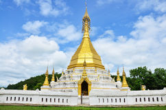 Wat Tophae bei Khun Yuam in Mae Hong Son Province von Nord-Thailand Stockbild