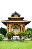 Wat Tophae em Khun Yuam em Mae Hong Son Province de Tailândia norte fotografia de stock royalty free