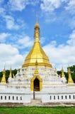 Wat Tophae em Khun Yuam em Mae Hong Son Province de Tailândia norte Imagens de Stock Royalty Free