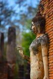 Wat Tra Phang Ngoen Temple på historiska Sukhothai parkerar, Thailand Fotografering för Bildbyråer